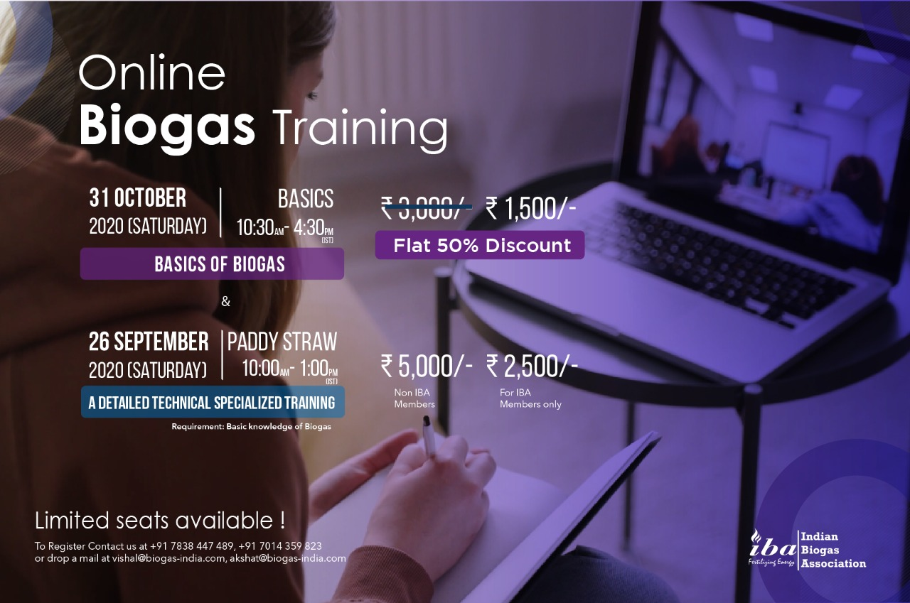 Online Biogas Training